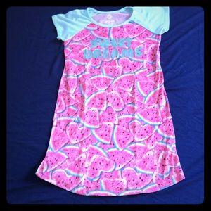 Wonder nation little girls dress size L 10/12